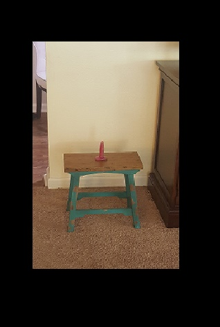 My punishment/submission stool